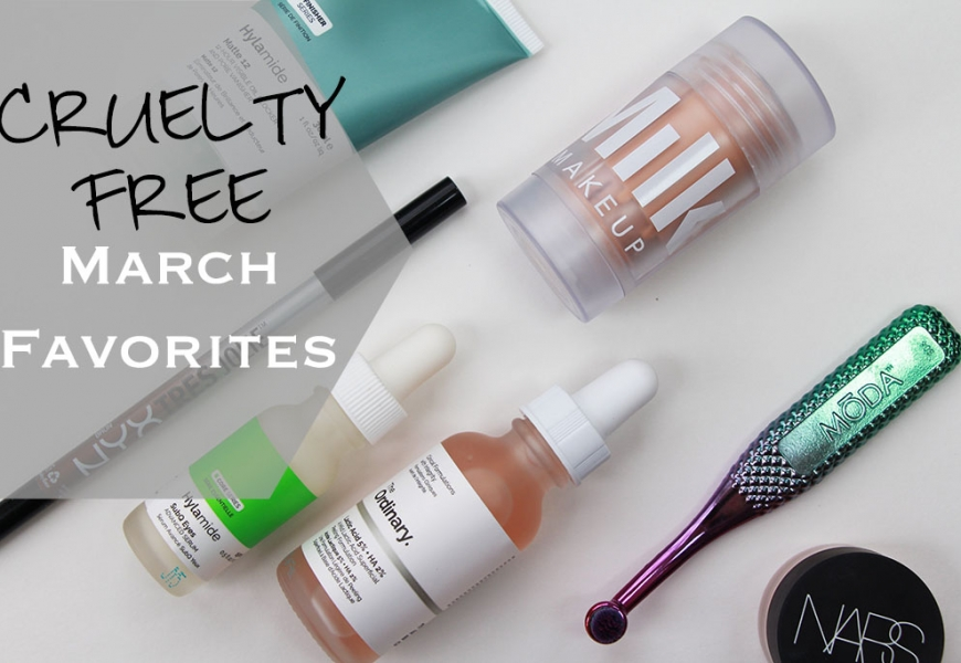 Cruelty Free March Favorites 2017!