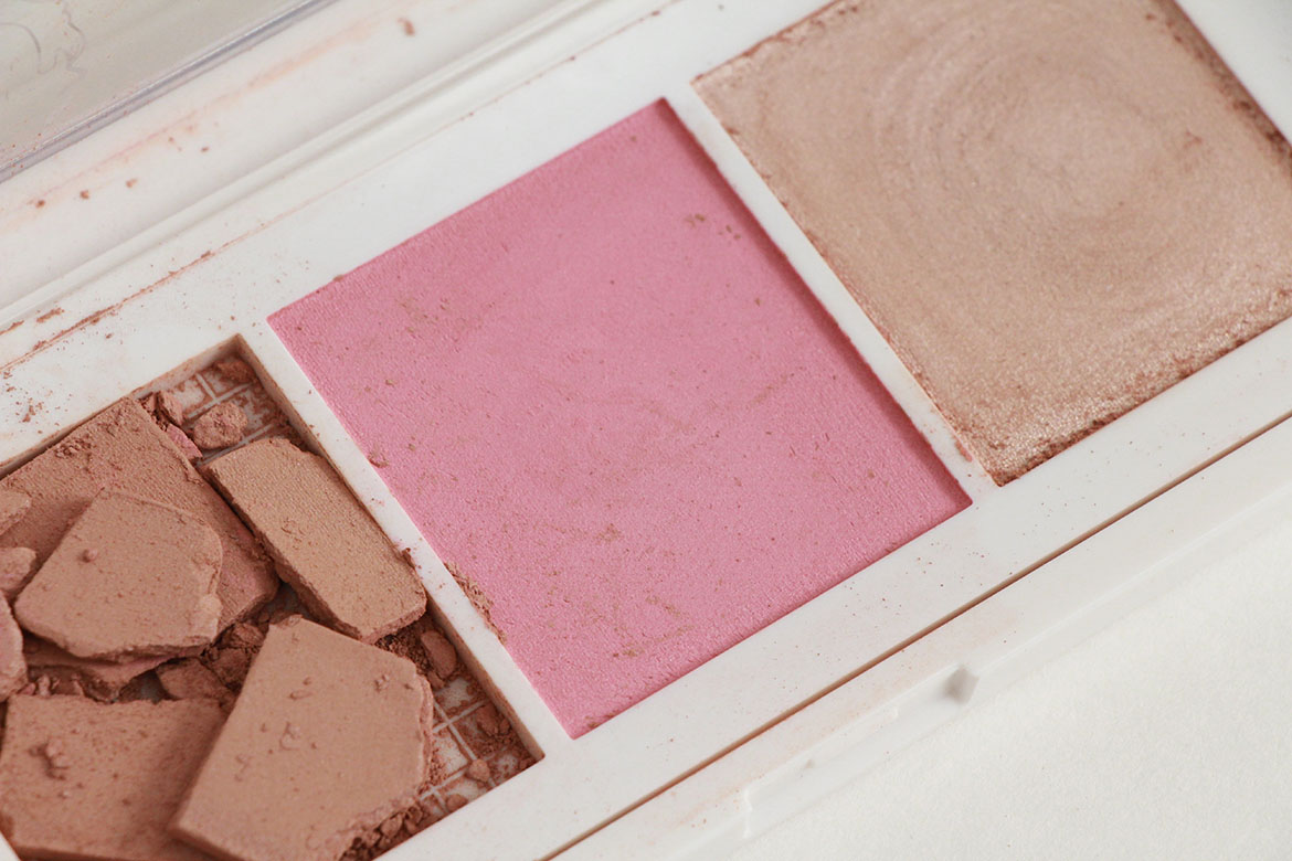 Flower beauty lift sculpt contouring palette highlighting i started out with the lift sculpt contouring palette because it included a bronzer blush and highlighter and all looked promising izmirmasajfo