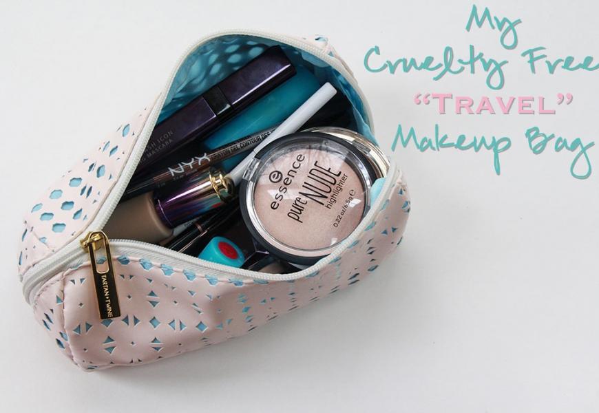 "My Cruelty Free ""Travel"" Makeup Bag!"