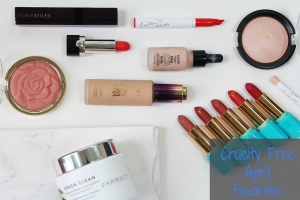April's Cruelty Free Beauty Favorites!