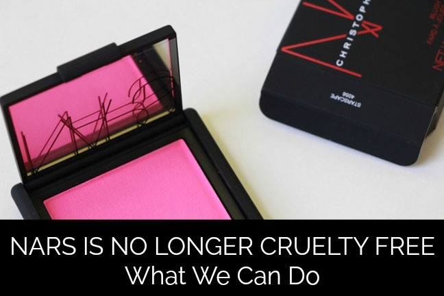 NARS NO LONGER CRUELTY FREE – Things We Can Do