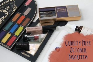 Cruelty Free October Beauty Favorites