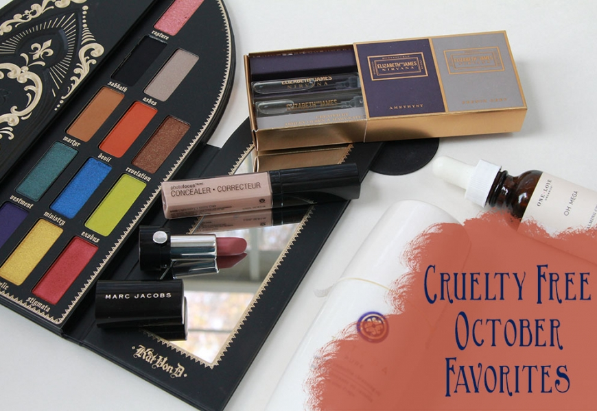 Cruelty Free October Beauty Favorites