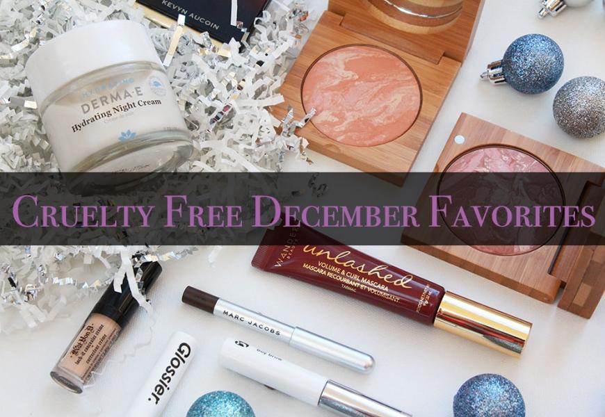 Cruelty Free December Favorites 2017