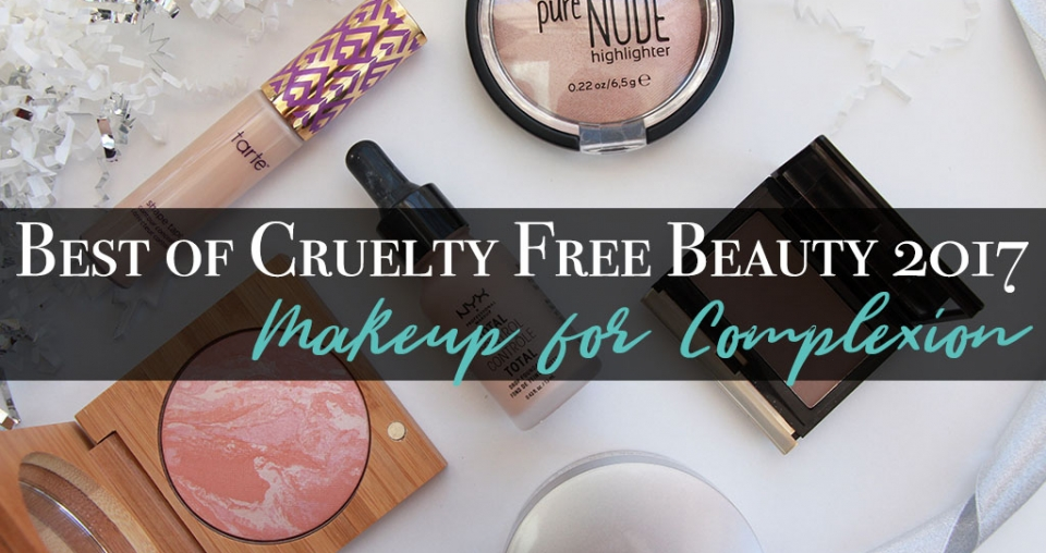 Best of Cruelty Free Beauty 2017 – Makeup for Complexion