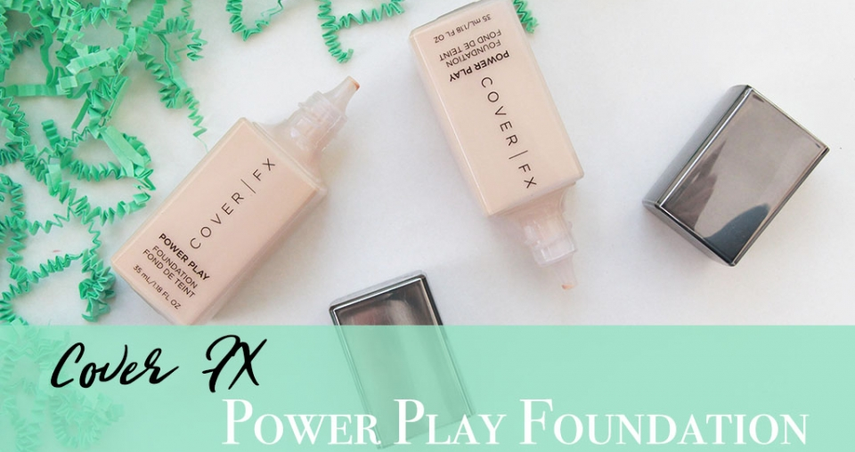 Cover FX Power Play Foundation Review – NEW Vegan Foundation!